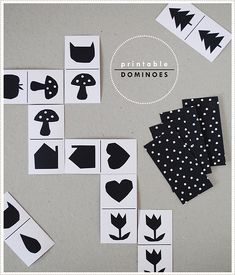 mer mag: Free Printable Domino Activity for Kids