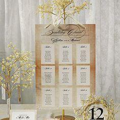 vintage seating chart  $15.98  vintage wedding decorations, wedding escort cards