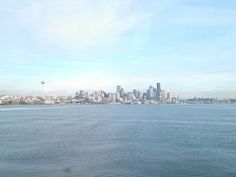 Seattle from the harbor cruise