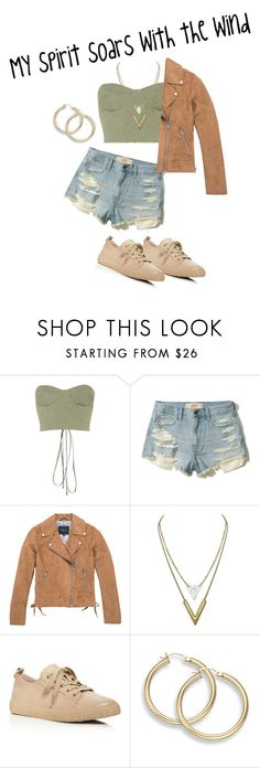 """""""🍂The Modern Pocahontas🍂"""" by elizabethpolky ❤ liked on Polyvore featuring Off-White, Hollister Co., Marc New York, Opening Ceremony and modern"""