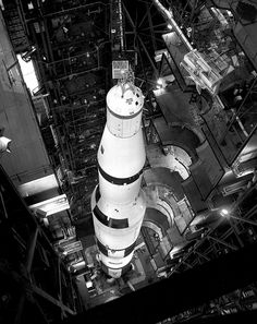 Saturn V Rocket Apollo 11 on Launchpad. NASA photo of the Apollo 11 Saturn V rocket on the launchpad. Each photograph is then printed on REAL chemically processed archival photo paper. At The McMahan Photo Archive, you are always buying the best! Apollo Space Program, Nasa Space Program, Moon Missions, Apollo Missions, Carl Sagan, Cosmos, All About Space, Nasa Photos, Nasa History
