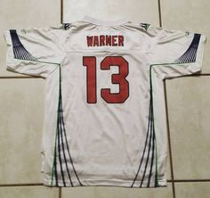 REEBOK Arizona Cardinals Kurt Warner Super Bowl Jersey #jerseys#football#nfl#instafootball#cleats#arizonacardinals#cardinals