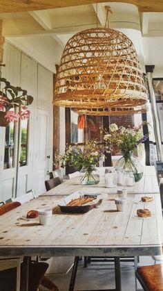 Bordplate: møbel ute og pynt inne (opp mot vegg)