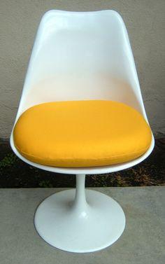 Canvas Duck Cushion For Saarinen Or Burke Tulip Chair