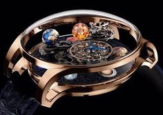 When you thought the Astronomia from Jacob & Co. has a coolness-limit you will be stunned to see the new frontier. Coming soon to www.ablogtowatch.com