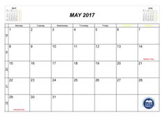 may 2017 archives printable 2017 calendar
