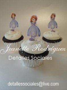 Cupcakes Princesita Sofia