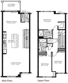 Plan 38028lb craftsman triplex with townhouse potential for Large townhouse floor plans