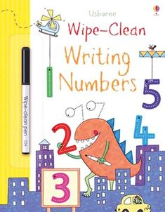 The fun way to start writing numbers. Trace, write, wipe! Do you want a really exciting way to practise school essentials? One where you never need to worry about making mistakes? Look no further. Usborne's wipe-clean learning books are big fun to use, and they've got all the key skills covered. Practise your skills on write-and-wipe pages full of colourful pictures. Once you start, you won't want to stop! What's not to like? Writing Out Numbers, Book Of Numbers, Learning Numbers, Writing Pens, Writing Practice, Start Writing, Fun Learning, Reading Tree, Clean Book