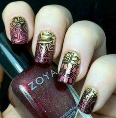 #nails #stamping #nailart