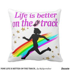 PINK LIFE IS BETTER ON THE TRACK DESIGN Calling all Track Stars! Enjoy the best selection of Running and Track Tees and Gifts from Zazzle.  15% Off Sitewide Use Code: SPRINGLOVE17      http://www.zazzle.com/mysportsstar/gifts?cg=196451289151790577&rf=238246180177746410 #TrackandField #Runtrack #GirlsTrack #Crosscountry #RunlikeaGirl