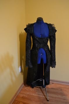 Steam punk coat full length