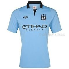 a9870cab172 Official Manchester City Umbro Home Jersey 2011 2012 - Official UMBRO  soccer jersey - Same