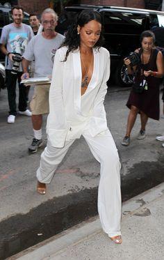 Rihanna in attendance at Edun