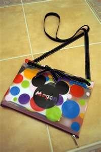 vinyl on bag for Disney