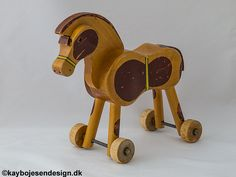 Kay Bojesen, paard op wielen
