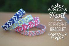 DIY | Do it yourself | By Isnata: DIY - Tuto : Bracelet Brésilien Coeur
