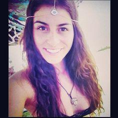 """#Coachella #evileye #headchain #swag  #tbt #hippie #glam #music #festival"""