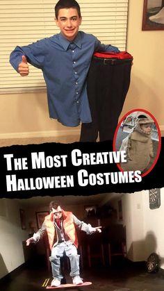 The Most Creative Halloween Costumes - Hacks - Halloween costumes diy Halloween Costume Hacks, Most Creative Halloween Costumes, Unique Costumes, Halloween Art, Holidays Halloween, Diy Baby Costumes, Cute Costumes, Space Games For Kids, Monster Party