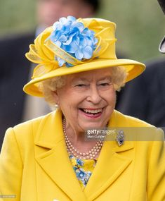 Queen Elizabeth II attends Royal Ascot Day 1 at Ascot Racecourse on June 19, 2018 in Ascot, United Kingdom. (Photo by Mark Cuthbert/UK Press via Getty Images)