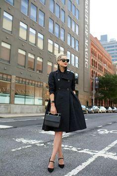 Jacket:CH by Carolina Herrera(similar). Shoes:Polo Ralph Lauren. Bag:M2M. Sunglasses:Prada. Lips:Stila 'Beso'.