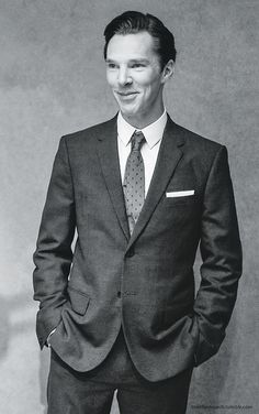 Cumberbatch that man.  He's too perfect.