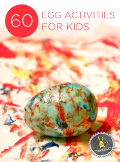 60 Egg Activities for Kids: Egg Decorating, Crafts, Science Activities, and more | Tinkerlab.com