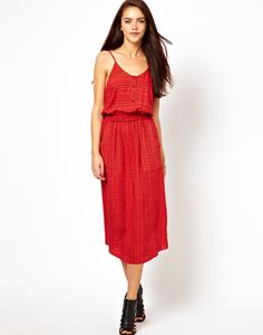 River Island Midi Dress In Print