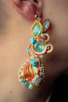shibori jewelry by LenaLyngdal on Etsy