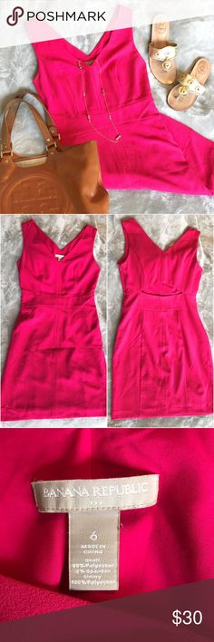 df6feafda3c Banana Republic Dress Lightly worn. Cute cut-out in the back! Banana  Republic