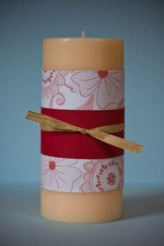 DIY Embellished Candle