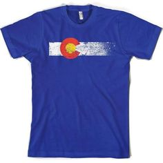 colorado themed t shirts