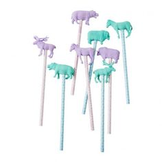 Girls Party Bag Gifts - Animal Pencils