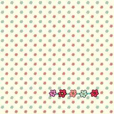 floral fun paper – free printable
