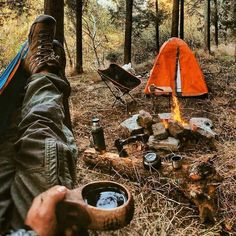 Bushcraft Camping, Camping And Hiking, Outdoor Life, Outdoor Camping, Emotional Photography, Camping Aesthetic, Adventure Travel, Travel Trip, Outdoor Activities