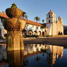 Santa Barbara Mission  another favorite place we like to visit, my favorite MISSION