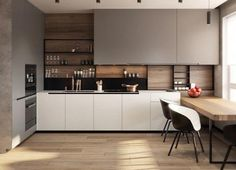Super Genius Useful Tips: Very Small Kitchen Remodel very small kitchen remodel.Apartment Kitchen Remodel Posts very small kitchen remodel.Small Kitchen Remodel With Island. Kitchen Shelf Design, Home Decor Kitchen, Home Kitchens, Black Kitchens, Kitchen Shelves, Kitchen Black, Rustic Kitchens, Modern Kitchen Cabinets, Pantry Design