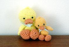 Quack quack babies by amigurumibb