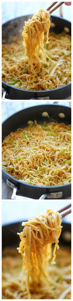 Panda Express Chow Mein Copycat - Tastes just like Panda Express except it takes just minutes to whip up and tastes a million times better! @damndelicious