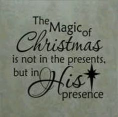 Merry Christmas.  Please keep Christ in Christmas and please remember that HE is the REASON for the SEASON!