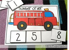 Miss Kindergarten: Fire Safety Week {and a quick giveaway!}