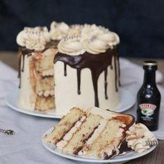 Mokka bailey's taart
