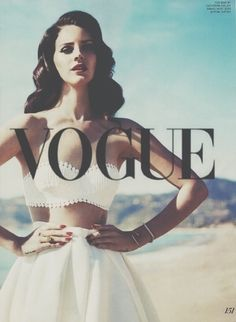 Lana Del Ray - Vogue