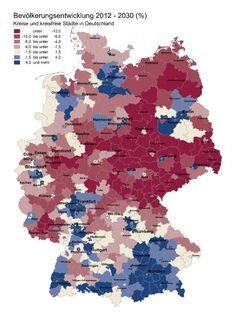 Bevölkerungsentwicklung Deutschlands- 2030 knapp 80 Millionen Einwohner