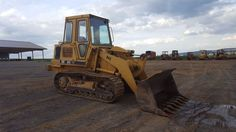 1987 Caterpillar 943 Track Loader Diesel Engine Construction Hydraulic Machinery
