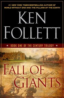 Fall of Giants - Ken Follett.  WWI historical fiction - fascinating.  Then read Winter of the World.