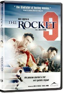 """Maurice Richard (2005) Many of us first learned about Maurice """"Rocket"""" Richard as kids in French class when we read The Hockey Sweater (Le chandail de hockey), a short story by Canadian author Roch Carrier. www.groovie.com"""