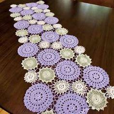 TRICO y CROCHET-madona-mía: Camino en croche / caminho em croche