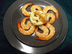 Crevettes sauce coctail=