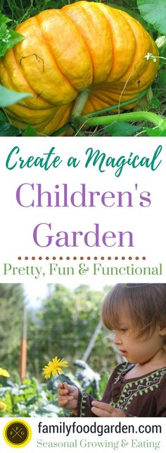 Creating a Magical Children's Garden